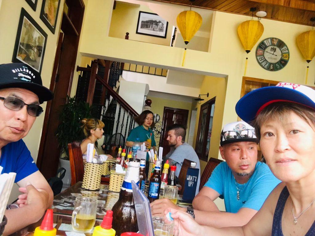 ベトナムダナンカフェ43店内の雰囲気