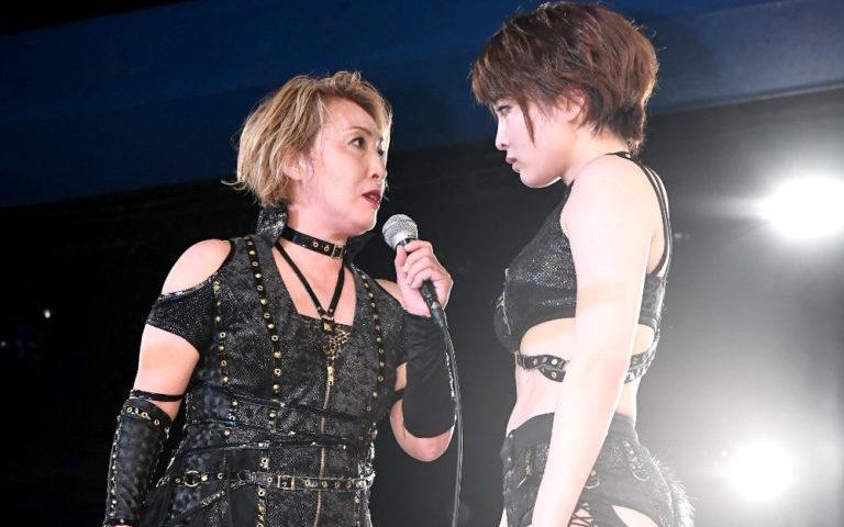 尾崎VS安納タイトルマッチ戦への写真