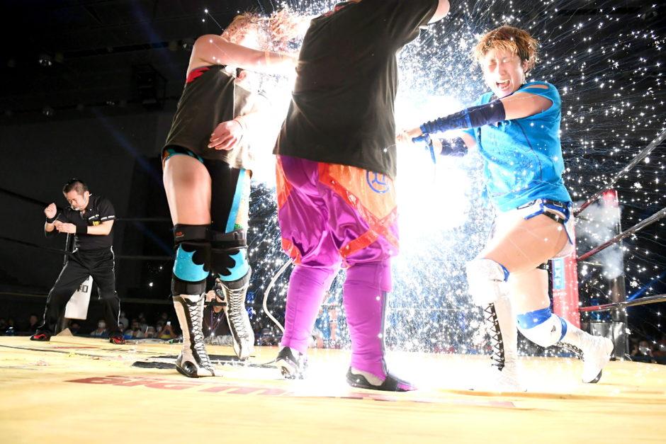 OZアカデミー横浜大会プラズマ爆破デスマッチの写真