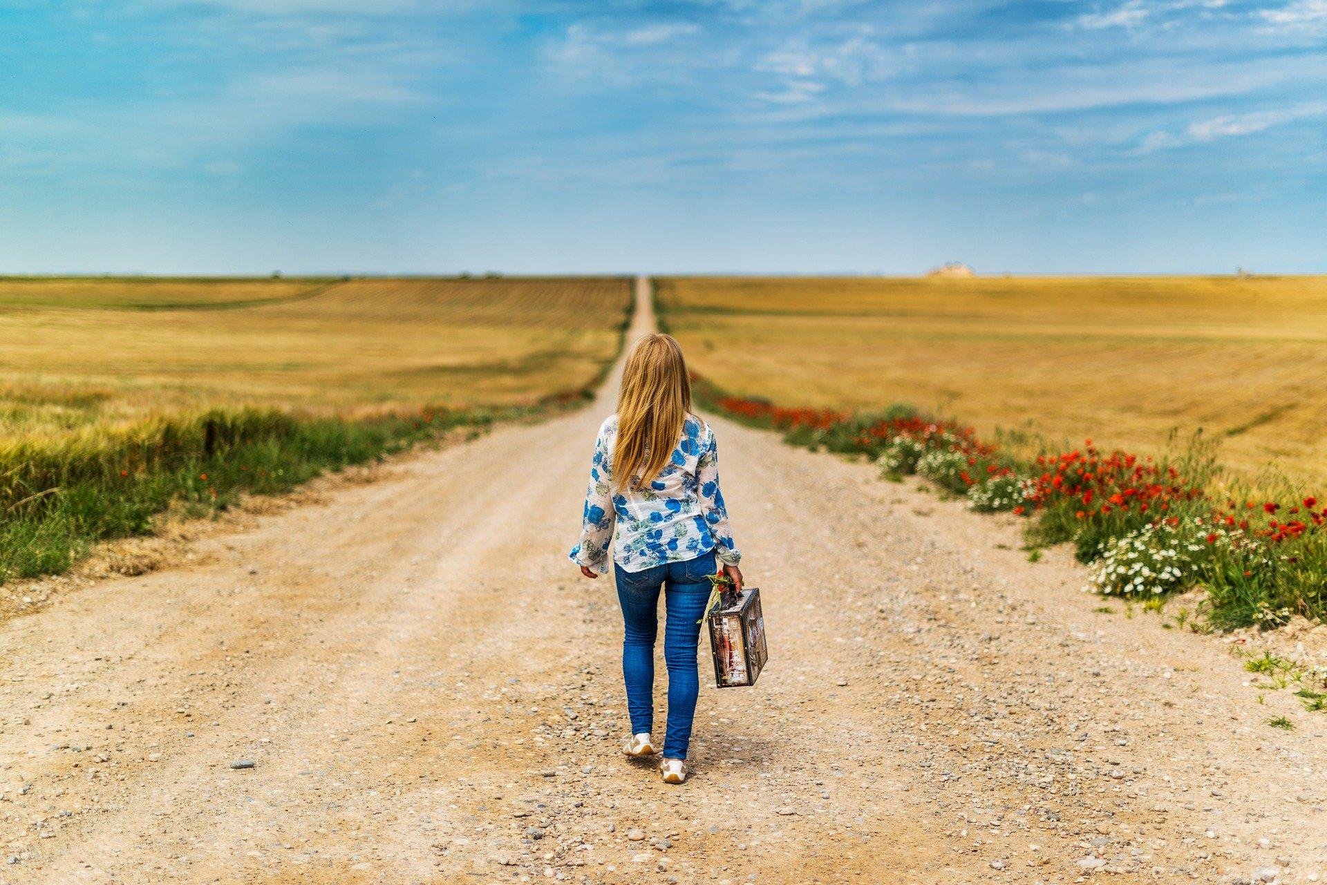 ほぐし処とりっぷの歩き過ぎて足が疲れた時のイメージ写真