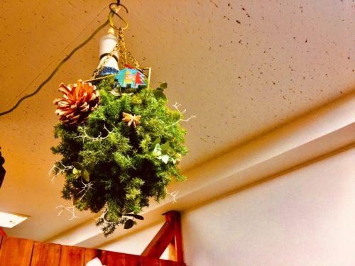 とりっぷ店内クリスマスオブジェ