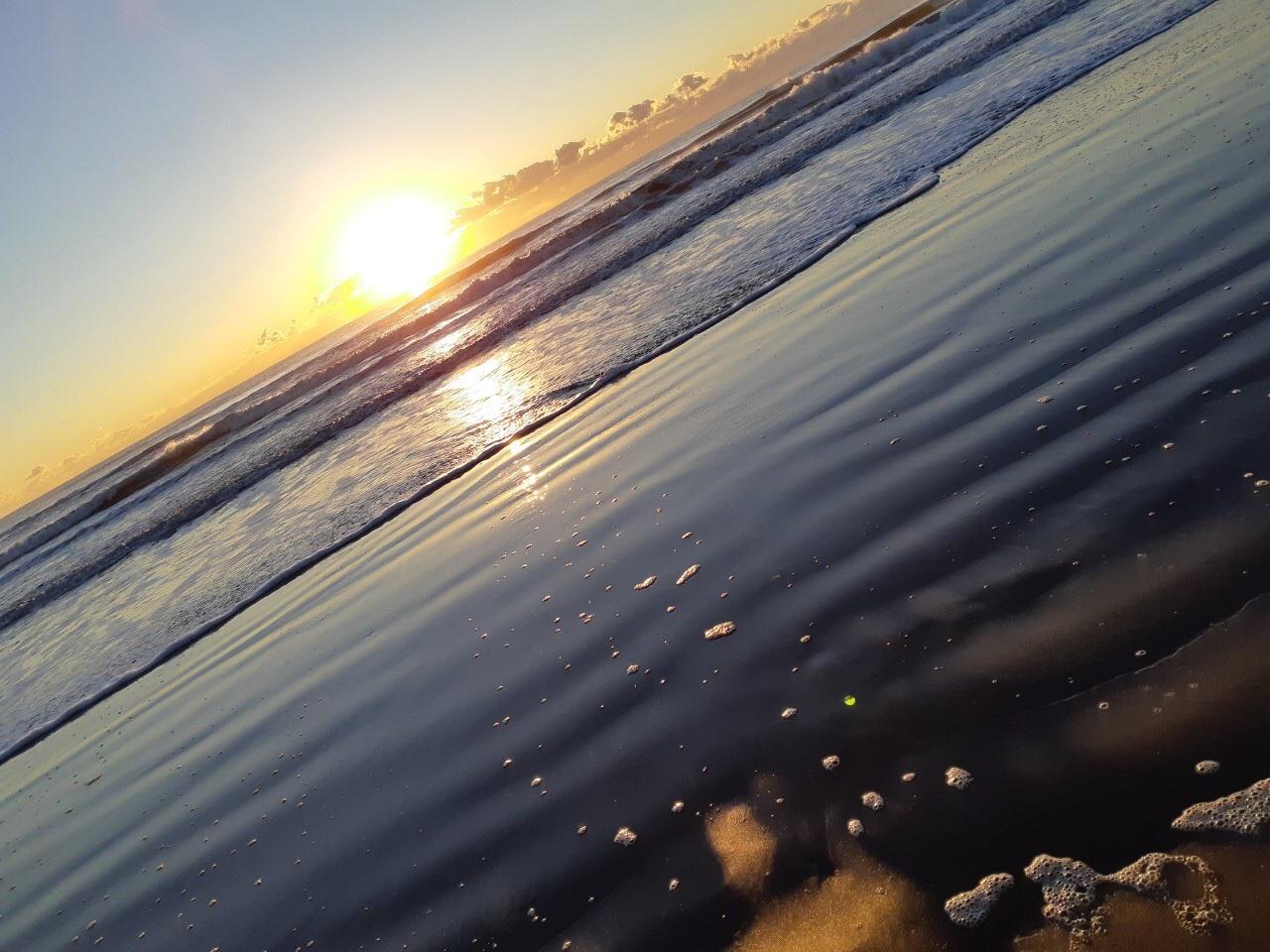 2021サンライズ九十九里浜の初日の出